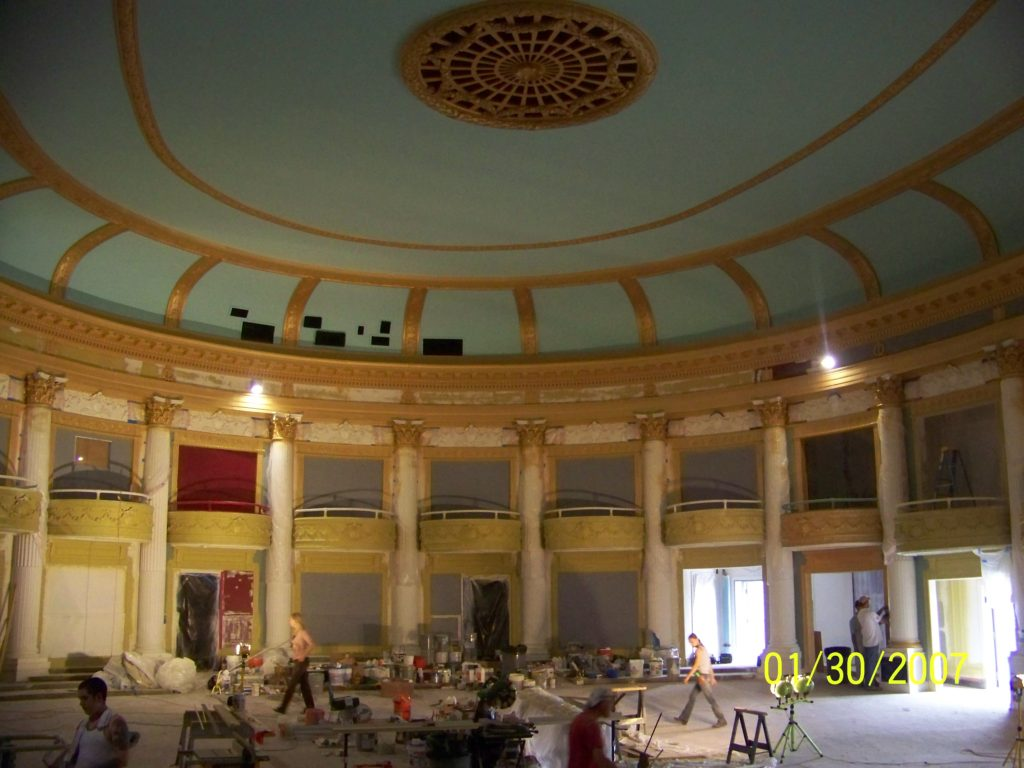 Orpheum theatre Renovations - 2009